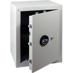 """Páncélszekrény, kulcsos zár, 52 l, 570x450x400 mm, """"Sistec EM3"""""""