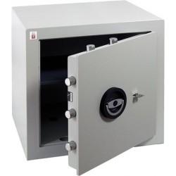 """Páncélszekrény, kulcsos zár, 39 l, 450x450x400 mm, """"Sistec EM2"""""""