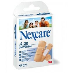 """Sebtapasz, vízálló, általános, vegyes méret, 20 db, 3M """"Nexcare Universal"""""""