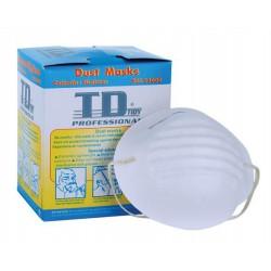 Porálarc durva porokszemcsék ellen, egyszer használatos