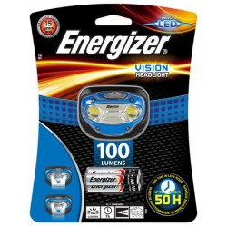 "Fejlámpa, 2 LED, 3xAAA, ENERGIZER ""Headlight Vision"""