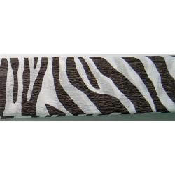 Krepp papír 50x200 cm, zebra csíkos