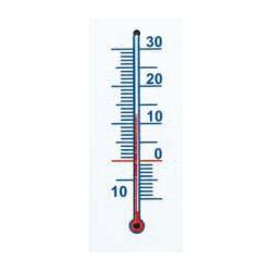 Hőmérő, műanyag
