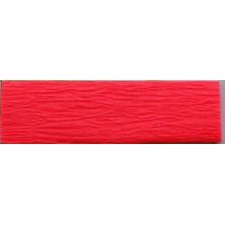 Krepp papír 50x200 cm, neon piros