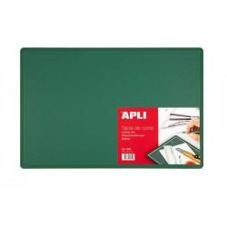 Vágólap, 450x300x2 mm, APLI, zöld