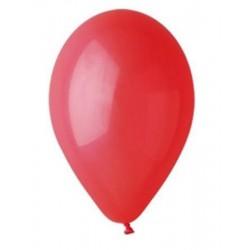 Léggömb, 26 cm, piros
