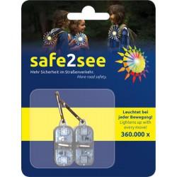 Biztonsági villogó, LED,...