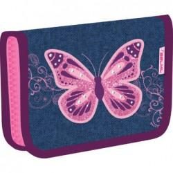 Belmil kihajtható tolltartó 335-74, Purple Flying Butterfly