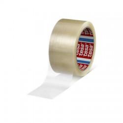tesapack® standard csomagolószalag könnyű és közepes súlyú kartonok manuális és automatikus lezáráshoz alkalmas.