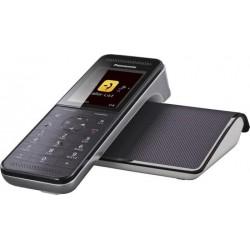 """Telefon, vezeték nélküli, PANASONIC, """"KX-PRW110PDW Premium DECT"""", fekete"""