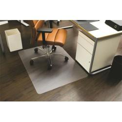 """Székalátét, kemény felületre, E forma, 130x120 cm, RS OFFICE """"Ecoblue"""""""