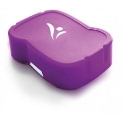 Uzsonnás doboz, higiénikus műanyagból, FREEWATER, lila