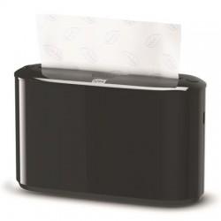 Kéztörlő adagoló, pultra tehető, H2 rendszer, TORK, fekete