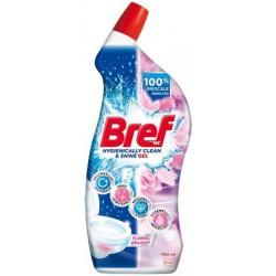 WC-tisztítógél, 700 ml, BREF, virág