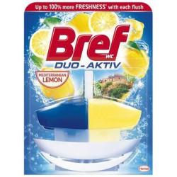 "WC illatosító gél, 50 ml, BREF ""Duo Aktív"", citrus"