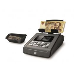 """Bankjegyszámláló,HUF, EUR, USD bankjegyek, SAFESCAN """"6185"""", fekete"""
