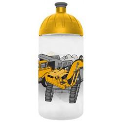 "Kulacs, higiénikus műanyagból, 0,5L, FREEWATER, ""Excavator"", áttetsző"