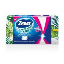 """Háztartási papírtörlő, 2 rétegű, 75 lap, ZEWA """"Wish&Weg Quick Pack"""""""