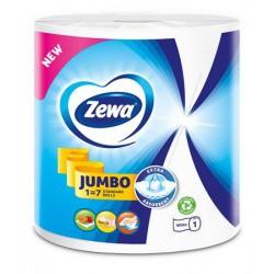 """Kéztörlő, tekercses, 325 lap, ZEWA """"Jumbo White"""""""