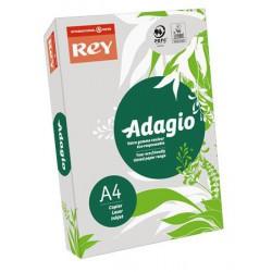 """Másolópapír, színes, A4, 80 g, REY """"Adagio"""", pasztell szürke"""