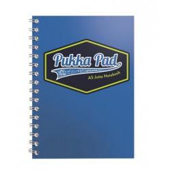 """Spirálfüzet, A5, vonalas, 100 lap, PUKKA PAD """"Vision Jotta Pad"""", kék"""