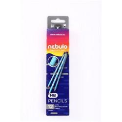 Grafitceruza, HB, kerek, szorzótáblával, NEBULO