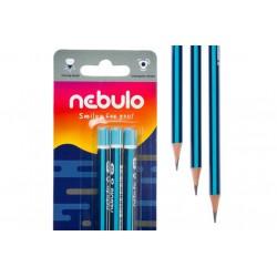Grafitceruza, 2B, háromszögletű, NEBULO