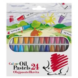 """Olajpasztell kréta, ICO """"Süni"""", 24 különböző szín"""