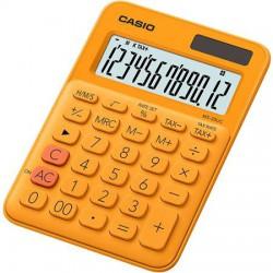 """Számológép, asztali, 12 számjegy, CASIO, """"MS 20 UC"""", narancssárga"""