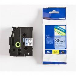 """Feliratozógép szalag, 36 mm x 8 m, BROTHER, """"TZe-561"""" kék-fekete"""