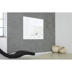 """Mágneses üvegtábla, 100x100 cm, SIGEL """"Artverum® """", fehér"""