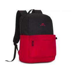 """Notebook hátizsák, 15,6"""", RIVACASE """"Mestalla 5560"""", fekete-piros"""