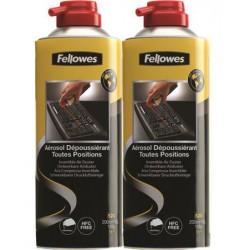 Sűrített levegős porpisztoly, HFC mentes, gyúlékony, 520 ml/200 ml, FELLOWES