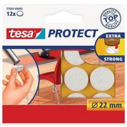 """Filckorong, karcolásgátló, 22 mm, TESA """"Protect"""", fehér"""