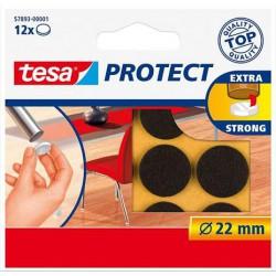 """Filckorong, karcolásgátló, 22 mm, TESA """"Protect"""", barna"""