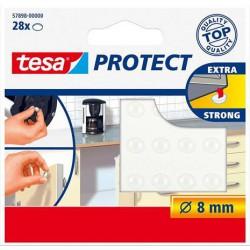 """Zaj- és csúszásgátló korong, 8 mm, TESA """"Protect"""", átlátszó"""