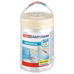 "Takarófólia festőszalaggal, 0,55 x 25 m, TESA ""Easy Cover Universal"""