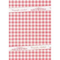 Húscsomagoló papír, íves, 30x38 cm, 4 kg