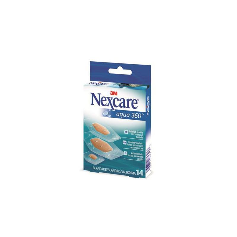 """Sebtapasz, vízálló 14 db, 3M """"Nexcare Aqua 360°"""""""