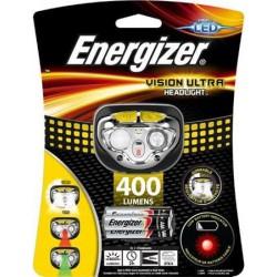 "Fejlámpa, 4 LED, 3xAAA, EENRGIZER ""Vision Ultra"""