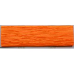 Krepp-papír, 50x200 cm, VICTORIA, neon narancs