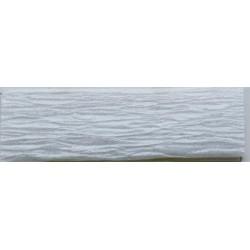 Krepp-papír, 50x200 cm, VICTORIA, gyöngyház fehér