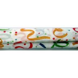 Krepp-papír, 50x200 cm, VICTORIA, szalagmintás