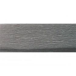 Krepp-papír, 50x200 cm, VICTORIA, világosszürke