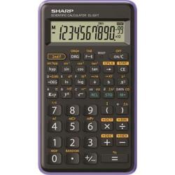 """Számológép, tudományos, 146 funkció, SHARP """"EL-501TBVL"""", lila"""