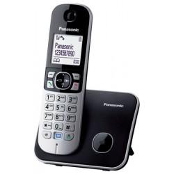 """Telefon, vezeték nélküli, PANASONIC """"KX-TG6811PDB"""", fekete"""