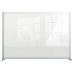 """Válaszfal, asztali, akril, 1400x1000 mm, NOBO """"Premium Plus"""", átlátszó"""