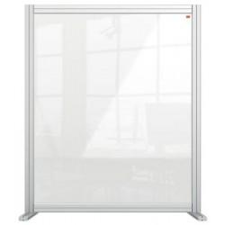 """Válaszfal, asztali, akril, 800x1000 mm, NOBO """"Premium Plus"""", átlátszó"""