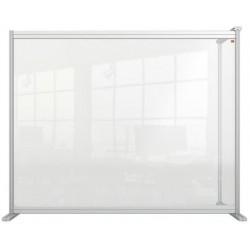"""Kiegészítő panel, asztali, akril, 1200x1000 mm, NOBO """"Premium Plus"""", átlátszó"""