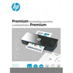"""Meleglamináló fólia, 125 mikron, A3, fényes, 50 db, HP """"Premium"""""""